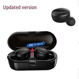 Comincan Wireless earphone twin double mini earbuds XG13 running sport in ear headphones sports headset for S21 NOTE 20 stylo 7