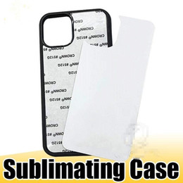 Wholesale ip covers resale online - D Sublimation Hard Plastic DIY Designer Phone Case PC Sublimating Blank Back Cover for iP XS MAX Samsung Note20