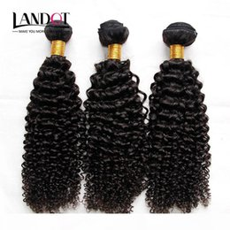 Discount jerry curl human hair extensions Cambodian Curly Hair Unprocessed Cambodian Kinky Curly Human Hair Weave 3 Bundles Lot 8A Grade Cambodian Jerry Curls Hai