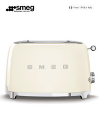 Bread Makers SMEG  Smeg Toaster One-Person Household Slice Multi-Function Small Breakfast Machine on Sale