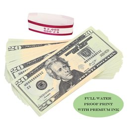 2020 Educational Motion Picture Prop Money Full Dollar Bills,Paper Money Stacks in Pretend Play Counting Money on Sale