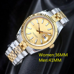 Top High quality 36mm Mens Watches Automatic Movement Stainless Steel Watches women 2813 Mechanical watches waterproof Luminous Wristwatches
