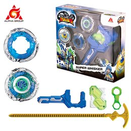 top toy beyblade Australia - Gyro Infinity Nado 3 Stunt Set Toy Combination Transforming Split Arena Launcher Spinning Top Battle Set Kids Toys Beyblade Toy 201110