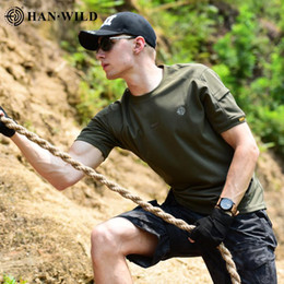 Wholesale tactical shirts resale online – Men Outdoo Rhiking Airsoft Clothing Shirts Men Camping Casual Solid Tactical Army Shirt Short Sleeve High Quality Pure Cotton jllLNW