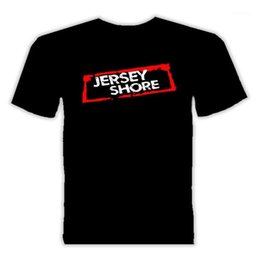 Wholesale jersey shore for sale - Group buy I Love The Jersey Shore T Shirt O Neck Fashion Casual High Quality Print T Shirt T Shirt Summer Novelty Cartoon T Shirt1