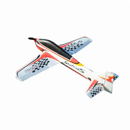 Wholesale Hot Sale Wingspan EPO Trainer Aerobatic Aircraft RC Airplane KIT Outdoor RC Toys For Kids Children Brithday Gifts LJ201210