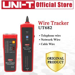 Wholesale UNI T UT682 Wire Tracker Telephone line network line power cable line finder communication line tester