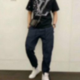 Wholesale designer mens shirts short sleeves for sale – custom Summer T Shirts Men woman LV LOUIS VV VUITTON Fashion Printing T Shirt Mens Clothing Luxury Short Sleeve Tshirt Tops zx0123