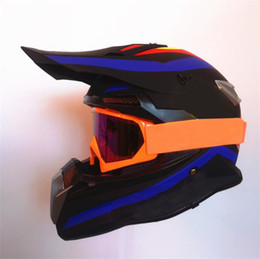 Wholesale Motocross helmet DH downhill off-road motorcycle full helmet professional racing forest road site protection riding helmet