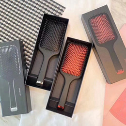 Wholesale paddle for sale - Group buy 2020 Hot Brush Professional Paddle Comb Hot Brush for Hair Styling Ceramic Hair Straightener Brush by