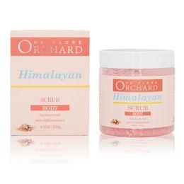 Orchard Himalaya Vücut Scrub Arabica Kahve Yüz Vücut Scrub 250g 8.8oz Antibakteriyel Temiz Kusurlaştırıcı Vücut Scrub Toptan Ücretsiz Kargo