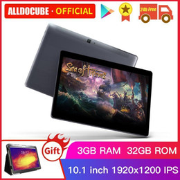 tablets android 8.0 UK - ALLDOCUBE M5XS Tablets 10.1 inch Android 8.0 Dual 4G 10 Core Google Play 3G Tablet PC 3G RAM 32 ROM 2.4G+5G WIFI Phone Call1