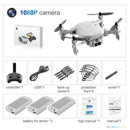Discount quadcopter drone uav wifi camera Mini Rc Drone Uav Quadcopter With Camera Wifi Fpv Aerial Photography Helicopter Foldable Led Light Quality Global Toy Ao