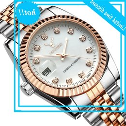 watches for women designer Canada - Famous Brand Fashion Luxury Steel Metal band ROSE GOLD Bracelet watch for Men and Women Gift Dress Watches relogio masculino