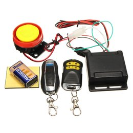 Universial Dual Remote Control Motorcycle Alarm Security System Motorcycle Theft Protection Bike Scooter Motor Alarm System 12V on Sale