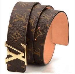 Wholesale mens fashion designer jeans for sale – denim Fashion belt Genuine Leather Men Belt High Quality Smooth Buckle Mens Belts For Women belt Jeans Cow StrapXo0143