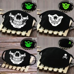 skeleton tactical mask 2020 - Breathable Dark Skeleton Cover Face Glow In The Grimace Tactical Skeleton Mask Face Hotclipper Breathable Grimace Masks