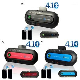 Wholesale 2020 New Handsfree Car Auto BT501 Sun Visor Hands-free Player Phone Car Receiver Mp3 BT980 Bluetooth 4.1 Q4H51