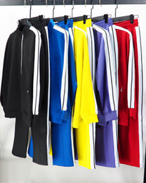 Wholesale mens track suit resale online - 20ss mens women designer tracksuit Sweatshirts Suits men track sweat suit coats man jackets coat hoodie sweatshirt Sportswear Size S XL