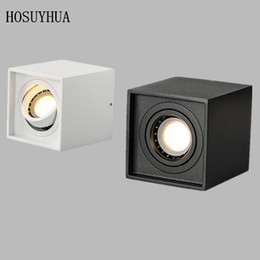 High quality Surface Mounted adjustment Angle LED COB Downlights AC85-265V 9W LED Ceiling Lamp Spot Light for Indoor Decorate on Sale