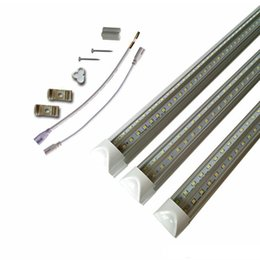 5ft v shape led tube lights NZ - UL Certification + 8ft T8 Led Tubes Light 2ft 3ft 4ft 5ft 6ft 8ft V Shaped Tubes Cooler Door Lighting led light t8 feet AC 85-265V
