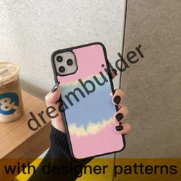venda por atacado Caso de telefone designer para iPhone 12 pro máximo 12 mini 11 pro 7 8 mais x r xs max capa pu couro luxo luxo samsung capa para s10p s9 nota 8 9 10p
