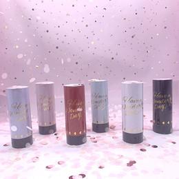 Metallic Gold Confetti Partito Popper Cannoni palmare Fireworks danza nozze di compleanno di Natale KTV celebrazione del nuovo anno da GGE2203 mare in Offerta