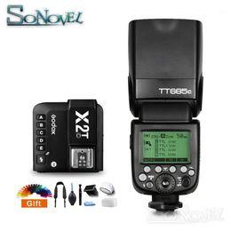 Godox685685C FlashL HSS Camera Flash speedlite With X2T-CL Transmitter Trigger for Eos 1500D 850D 800D 5DIV 7D1 on Sale