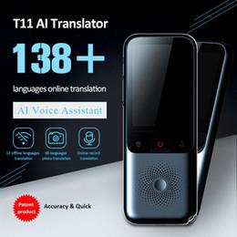 2020 Nuovo T11 portatile Audio Translator 138 Lingua Traduttore intelligente Offline in tempo reale Smart Voice Ai Foto vocale in Offerta