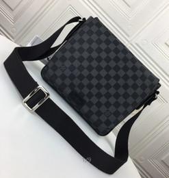 Ale#M41213 Hot sale DISTRICT handbags men's Handbags Iconic Top Handles Shoulder Bags Totes Cross Body Bag Clutches Evening