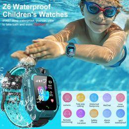 Wholesale Q19 Smart Watch Waterproof sport Z6 Kids Smart Watch LBS Tracker Smartwatches SIM Card Slot with Camera SOS for Universal Smartphones