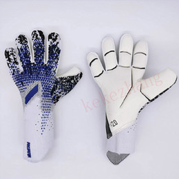 Wholesale Professional Child Adult Football Goalkeeper Gloves Thickness Latex Soccer Goalie Gloves