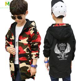 Wholesale boys school coats online – oversize clothes spring warm baby Boys camouflage coat teenage hooded windbreakers child school wear kids outwear jacket C1012