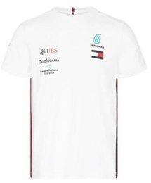 Vente en gros 2019 Formule 1 F1 Team T-shirt Hamilton / Bottas Team Edition séchage rapide séchage rapide Top à manches courtes