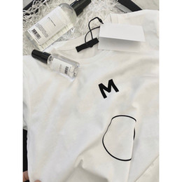 Toptan satış Çocuklar Moda T-Shirt Mektup Baskılı Erkek Kız T-Shirt Chidlren Unisex Sıcak Satış Kısa Kollu Tees Katı Renk 2 Stilleri Tops