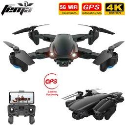 FEMA SG701  SG701S RC GPS Drone with 5G WiFi FPV 4K Dual HD Camera Optical Flow Foldable Quadcopter Mini Dron PK E520S SG907 201208 on Sale