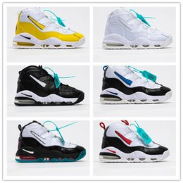 Wholesale skins soccer for sale – dress Hot Sale Scottie Pippen Mens Basketball Shoes For High Quality Yellow White Black Classic Skin Cushion Sports Sneakers