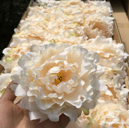 Simulate peony flower head Upscale Artificial Peony Flowers Heads Wedding Decoration DIY Supplies Accessories Multi Color Available EEA2119 on Sale