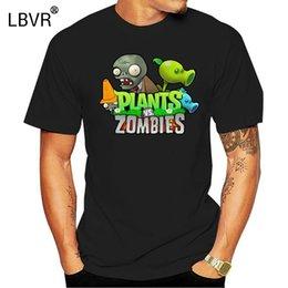 Wholesale women s vs hoodie online – oversize Men T shirt Organic Cotton Plants VS Zombies Poster O Neck s for Man funny t shirt novelty tshirt women sport Hooded Sweatshirt Hoodie