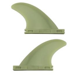 2pcs / set Surfboard Fins pour l'avenir de haute qualité en plastique Future Fins Sup Surf Fin en Solde