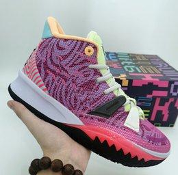 2020 Новое Прибытие Мужчины Кири Vii Мужские Баскетбольные Обувь 7s 7 Мальчики Женщины Zoom Спортивные кроссовки 7-12 на Распродаже