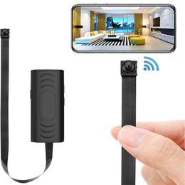 Großhandel Mini-Kamera Huomu Hidden Home Security Cameras 1080P HD WLAN-WiFi Fernseher Kamera Nanny Cam Kleiner Recorder