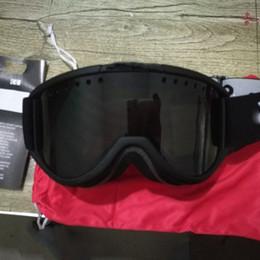 Les lunettes de ski, anti-buée professionnel double lentille UV400 grands hommes sphériques et des lunettes de ski lunettes de ski femmes-jing-01 en Solde