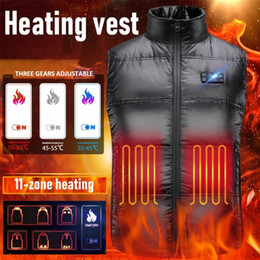 Wholesale winte jacket for sale - Group buy 11 Zone Heating Clothes Intelligent Control Electric Heating Vest Vest Full Body Charging Down Jacket Unisex Winte