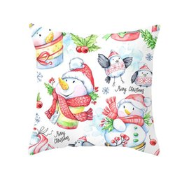 christmas pillows Australia - Christmas 4545 Pillow Case Sofa Navidad 2020 Home Decor Hogar New Year 2021 Christmas Gift Natal Christmas Decoration For Home qylVCI qqds