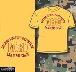 Marine Corps Recruit Depot 2. Bataillon San Diego CA Boot Camp USMC Shirt