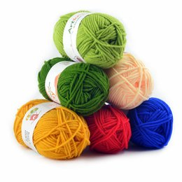Wholesale yarn for socks for sale - Group buy 16pcs Cotton Yarn Crochet Yarn for Hand Knitting Sweater Socks grams pc Suggest Crochet Needle No T200601
