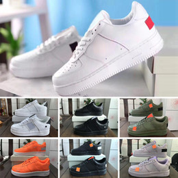 off white shoes Canada - 2020 New Design Shoes OFF 1 Black White Dunk Forc Volt women Mens one Sports bound Size Skateboarding low cut Trainers design m03