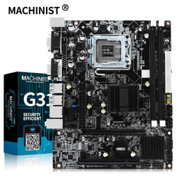 Новый Machinist G31 Desktop Motherboard Socket LGA 775 Поддержка Intel Core 2 Processor DDR2 RAM Память ZX-G31LM Mainboard1 на Распродаже