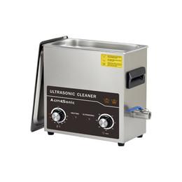 Máquina de limpieza ultrasónica 4L Calefacción Limpiador ultrasónico con temporizador Joyas Reloj Gafas Limpiador de gran capacidad A4L en venta